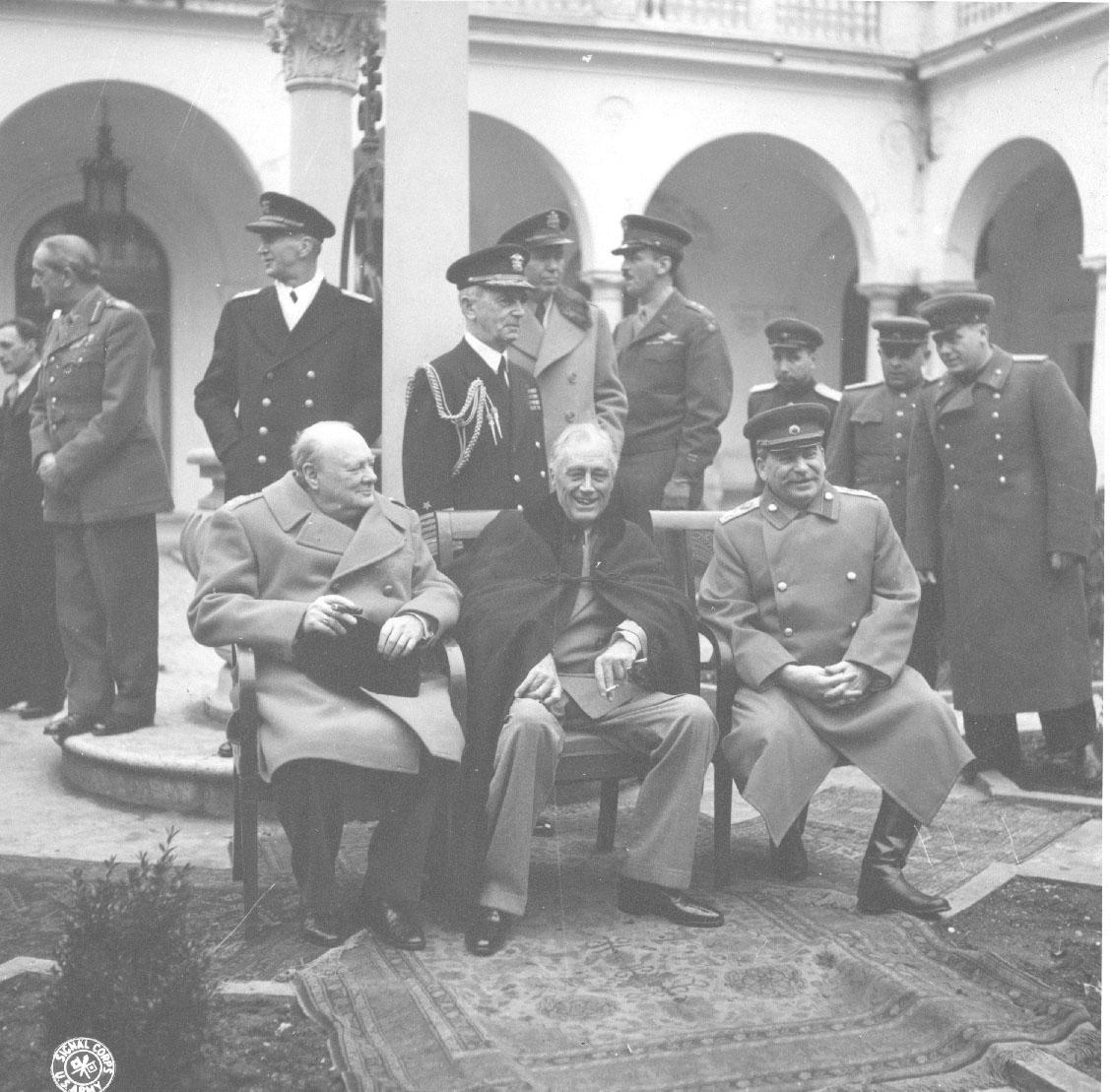 Winston Churchill In Roosevelt History
