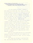 Franklin D. Roosevelt's remarks to paraders on election night at Hyde Park, NY, pg 1.