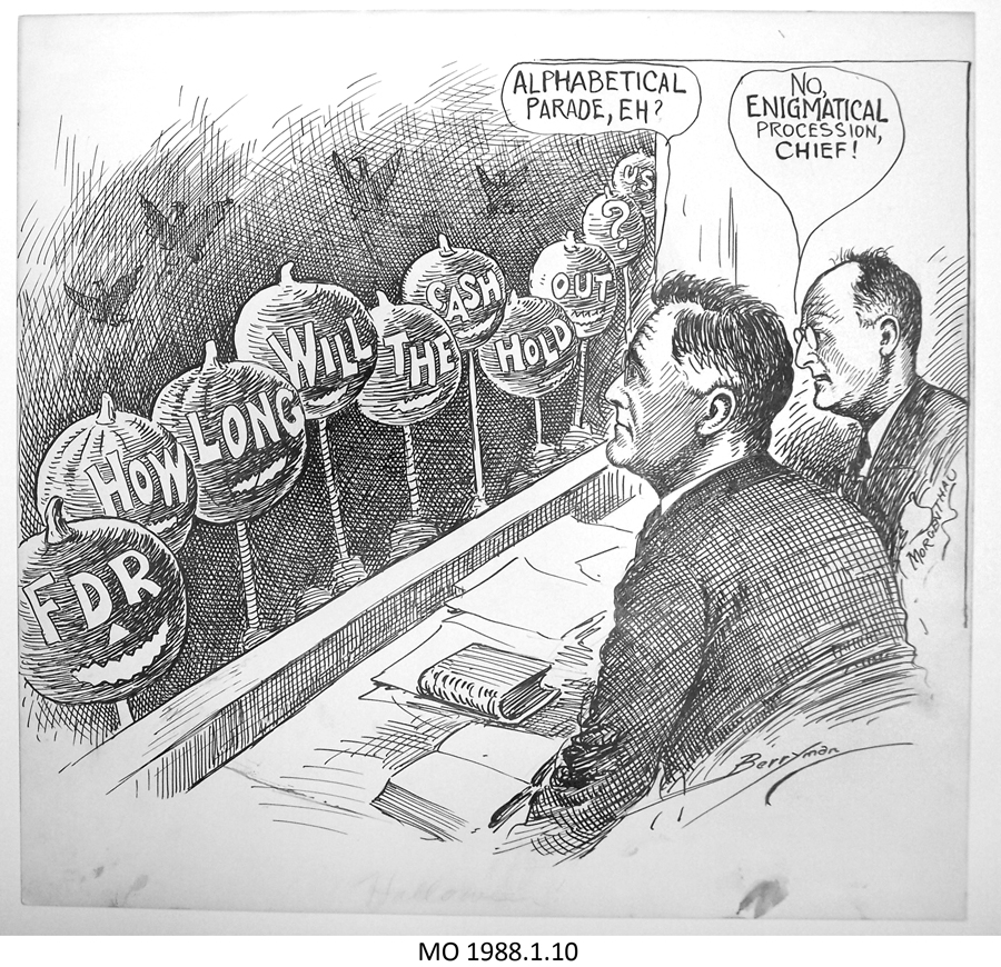 the oppositions in franklin roosevelts new deal program New deal programs franklin d roosevelt was the 32nd american president who served in office from march 4, 1933 to april 12, 1945 one of the important events during his presidency was the.
