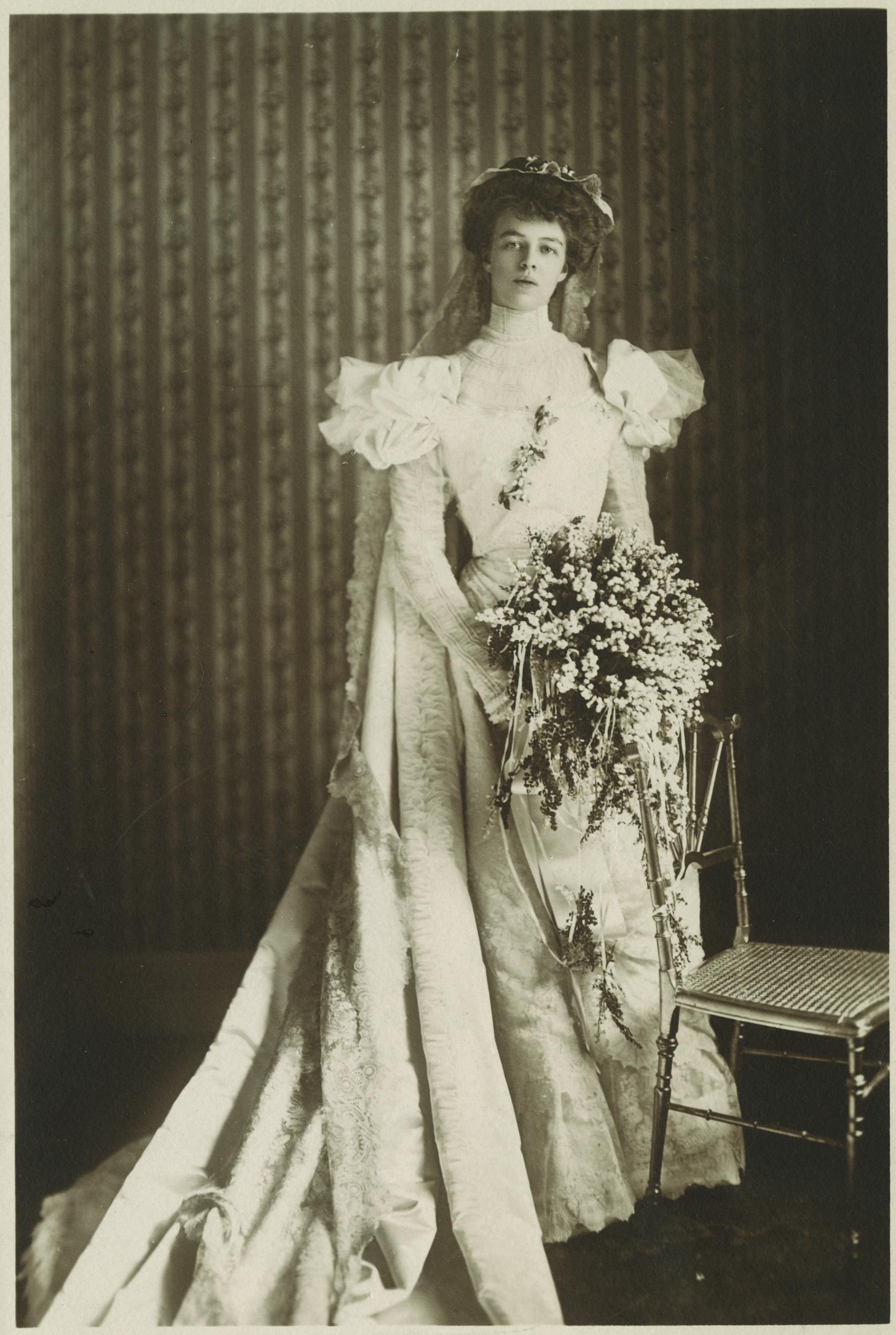 Wedding In Roosevelt History