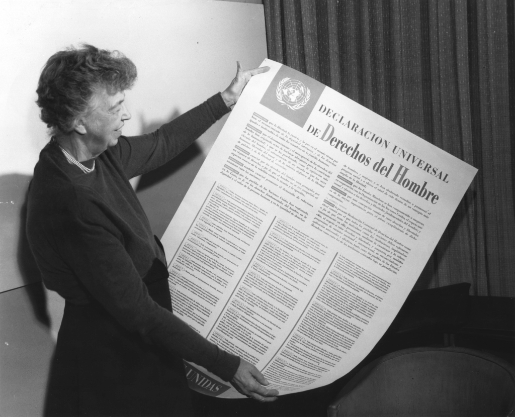 Eleanor Roosevelt and Universal Declaration of Human Rights