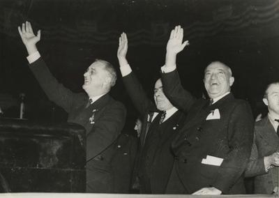 FDR and Senator Wagner
