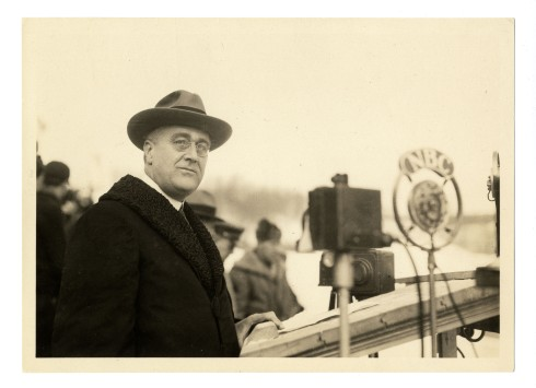 FDR opens the 1932 Winter Olympics