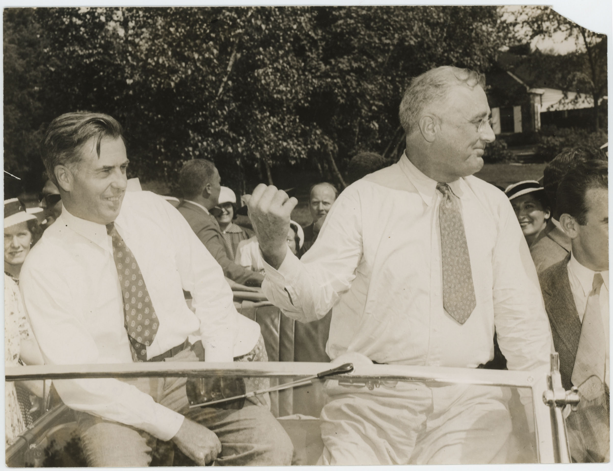 Henry Wallace and Franklin Roosevelt ...