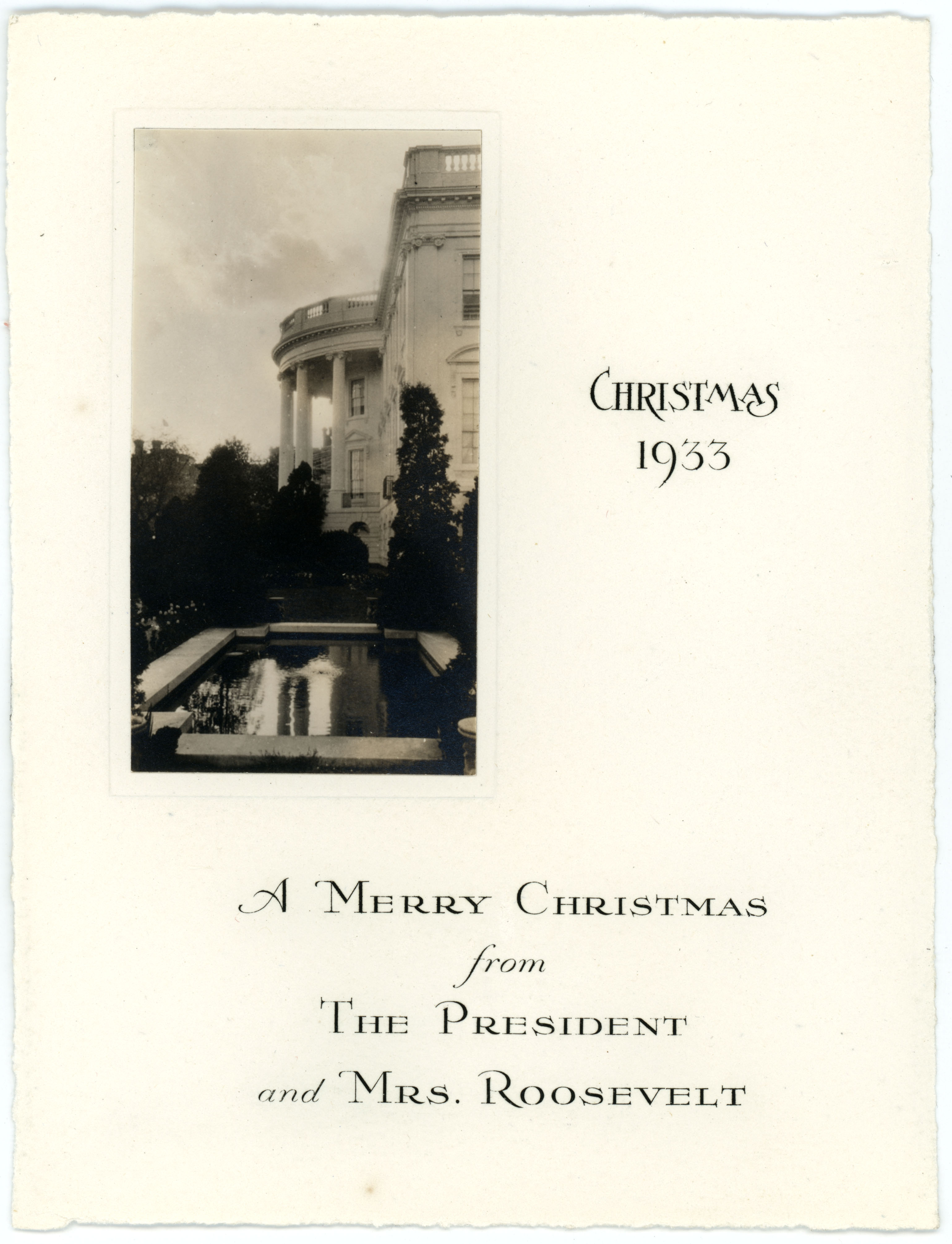 Christmas | In Roosevelt History