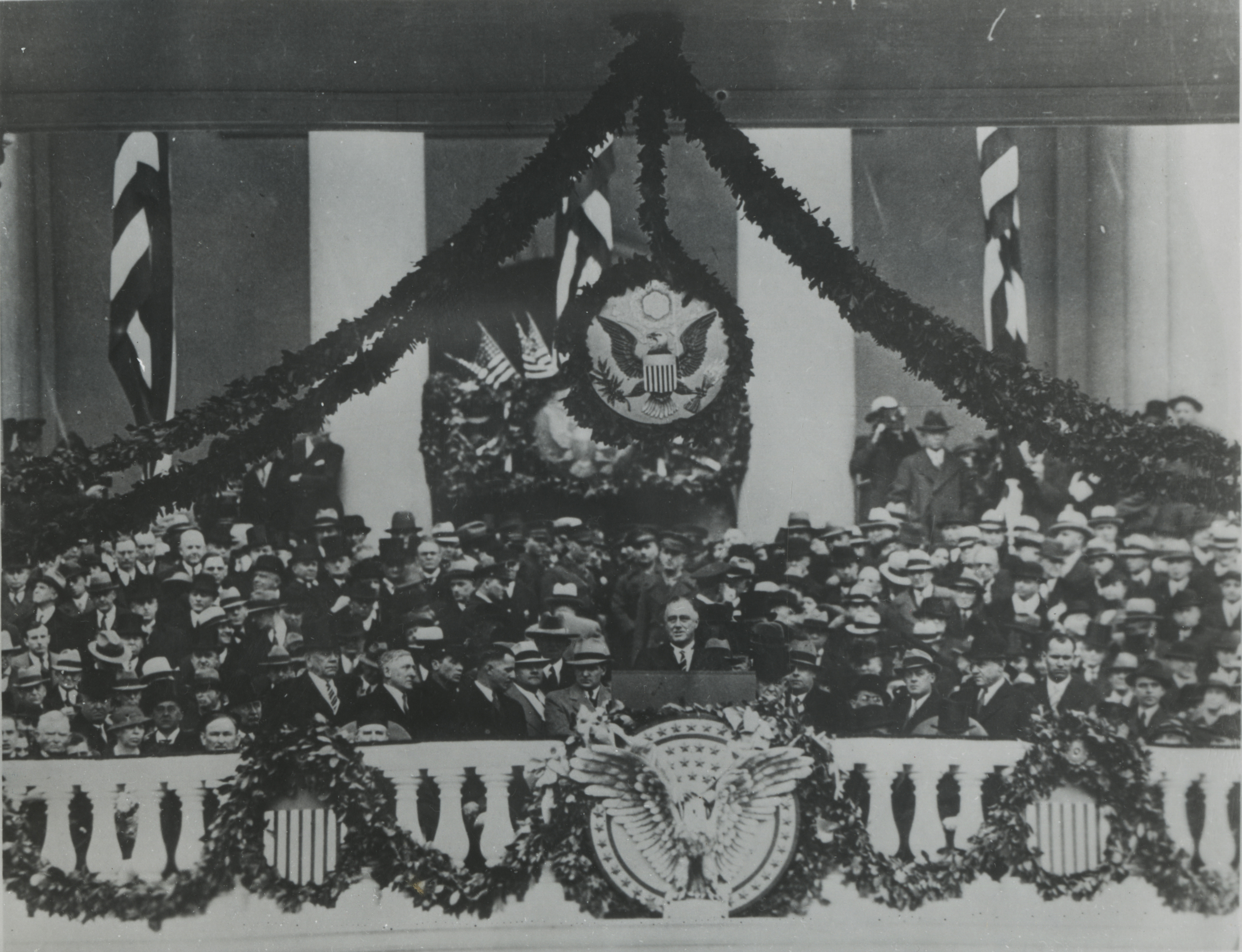 franklin d roosevelt first inaugural address summary