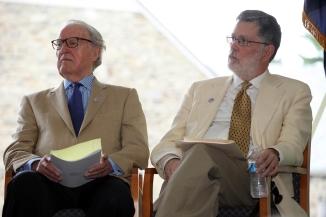 William vanden Heuvel and Geoffrey Ward