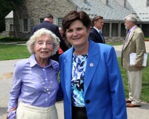 Edna Gurewitsch and Lynn Bassanese